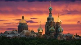 СТОЛИЦИТЕ НА РУСИЯ: МОСКВА и САНКТ ПЕТЕРБУРГ – от София